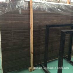 Lastre di marmo scure di Eramosa con la vena di legno del Brown per la parete/pavimentazione