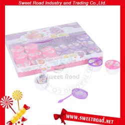 Polvere acida con la caramella della gelatina