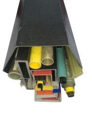 Los productos químicos producto ignífugo FRP/GRP tubo redondo para el hogar R006 Guohao gh028 un rendimiento duradero