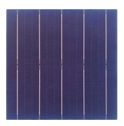 Mariosolar 17.6%-19.4% Alta Efficiencys Poly Celda Solar 5bb, cortar la mitad de 156.75mm*156.75mm Tipo de célula solar de células solares policristalinas para módulo solar