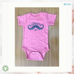 Bébé doux couleur de la plaine de la conception de l'usure de gros de la Fête des Pères Body bébé