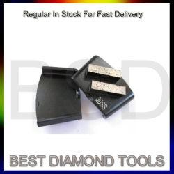De dubbele Stootkussens van het Metaal van de Diamant van het Hulpmiddel van de Vloer van Segmenten Epoxy Malende Concrete Oppoetsende
