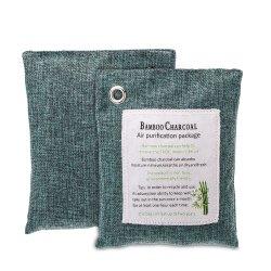 Bolsa de carbón de bambú purificador de aire fresco Natural Bolsa bolsas reutilizables Ambientador