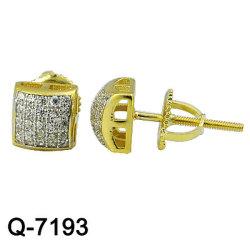 925 Último diseño de joyas Joyas de plata Anillo de Lady Diamond Ring