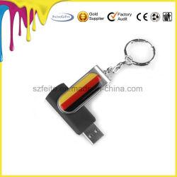 Kundenspezifischer Epoxidbeschichtung-Firmenzeichen-Schwenker USB-Speicher-Stock-Geschenk USB