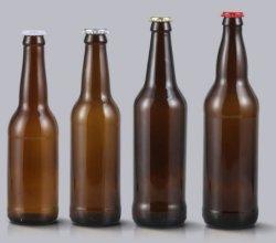 キャップ330ml 500ml 650mlが付いているビールガラスビン