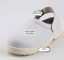 Venda a quente White Calçado Calcanhar Correia ajustável chinelos Calçado de segurança