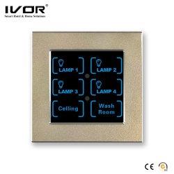 Neues Modell-intelligentes Beleuchtung-Steuerelektrischer Fingerspitzentablett-Wand-Schalter