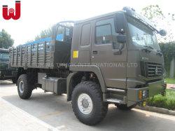 Sinotruk HOWO 4X4 ديزل All-Wheel Drive 290HP حمولة الخدمة الشاقة شاحنة للنقل