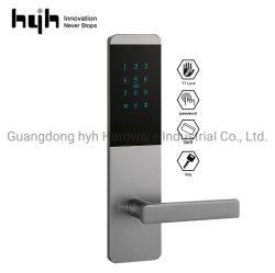 Segurança inteligente Senha de hardware de alta qualidade sem botão de alavanca de puxador de porta APP fechaduras para uso doméstico