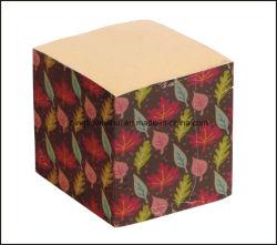 Écologique Cubes de papier Kraft imprimé personnalisé/Memo Cube