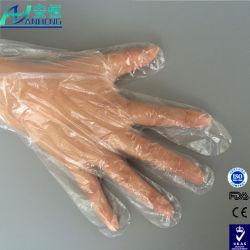 Gants jetables claire en PEHD à usage domestique avec la FDA enregistrés