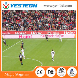 Для использования вне помещений полноцветный светодиодный экран по периметру спортивного стадиона панели дисплея