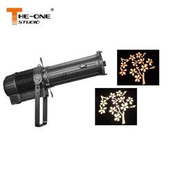 Proiettore LED Gobo senza effetto di profilo illuminazione 300 W con zoom