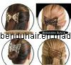 Charmante Dame Fashion Butterfly Accessoris PEIGNE cheveux