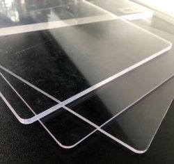 Expressos em acrílico transparente do painel de vidro para Protecções