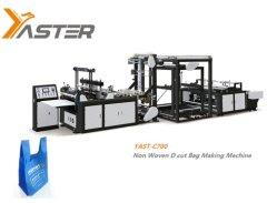 Entièrement automatique PP Matériel Non-Woven Lamination valise ECO Vest Bag Making Machine Factory