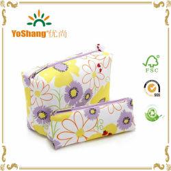 2016 Nova fábrica na China Moda abastecer directamente o algodão orgânico promocionais saco cosméticos