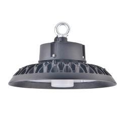ETL Dlcによってリストされている200W UFO高い湾LEDの照明19500lm 6500K極度の明るいLED倉庫ライトIP65は工場ガレージの体操のための高い湾の店の照明設備を防水する