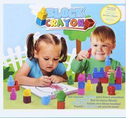 Lettre de l'anglais en forme de crayon de cire Box pour les enfants/kids/bébé Peinture