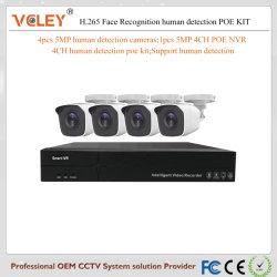 Installationssatz CCTV-Systems-bewegliche Kamera-Großverkauf-Überwachung-Radioapparat-Kamera des CCTV-Installationssatz-8CH 4CH Nvrs
