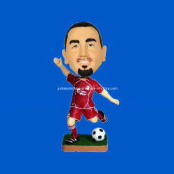 3D de resina Sport Man Bobblehead Doll