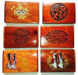 Chaud-Vente des caisses en bois de support de carte de visite professionnelle de visite
