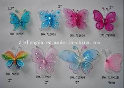 Multi-Color Mini Butterfly decorativos para festas
