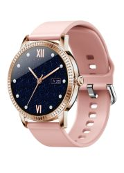 Lady Smart Watch Phone Round Smart Watch Kompatibel Mit Ios Android Smart Watch Lady Touchscreen