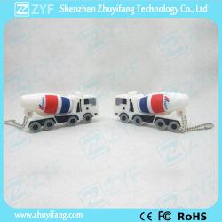 Camión hormigonera personalizado forma una unidad flash USB (ZYF1068)