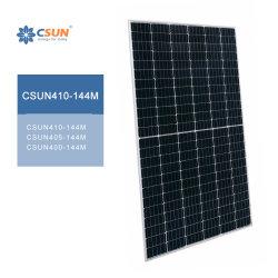 Csun Panel Solar410w Mono144cells PV Moudles PARA EL Hogar