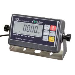X2 Célula de carga digital do indicador de peso para Balanças industriais