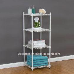Hyper прочный квадратный металлический провод белого цвета гостиная комната угловой стойки