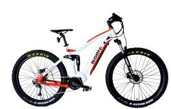 Gomma grassa Ebike MTB della bicicletta elettrica della sospensione personalizzata 27.5 pollici