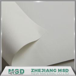Membrana de arquitetura revestido de PVC revestido a tecido de malha de estrutura de tracção