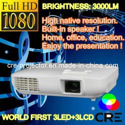 1920*1080 HDMI LCD Projecteur à LED cinima vidéo (accueil) (X2000VX)