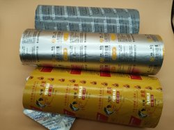 Blister aluminium d'emballage d'approvisionnement médical