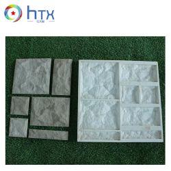 Canto da parede Ledgestone telhas de cimento pedra de Silicone Molde cultura concreta Veener Molde de Pedra
