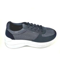 2021 pattino delle donne stessi designa il pattino casuale di sport delle scarpe da tennis Thick-Soled dei pattini di bianco