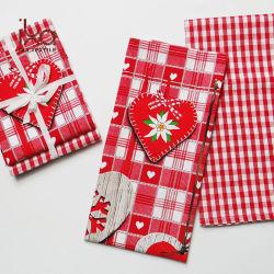 Bainha guardanapo de mesa Algodão das partes reutilizáveis Natal fraldas de pano