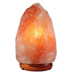 3-5kg de Lamp van het Zout van de Rots van Himalayan met Houten Basis, de Zoute Lamp van Himalayan van het Concept van de Gezondheid, omvat Bol en Draad met Norm CSA/UL/UK