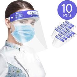 Gesichts-Schild-Plastikgesichts-Schild-Sicherheits-Gesichts-Schild-volles Gesichts-Schild für Erwachsenen