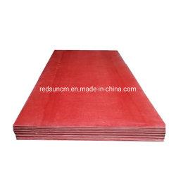 Красный объект групповой политики3 пластину Unsatured полиэстер стекла коврик лист ламината