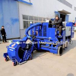 La superficie del suelo suelo de la conducción Vehicular Granallado máquina