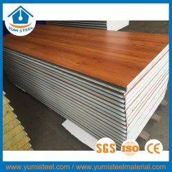 Décoration favorable des matériaux de construction en bois EPS Panneau Ssandwich pour mur/toit