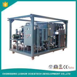 Doppelter Stadiums-hohes Vakuumabfall-Transformator-Öl-Reinigungsapparat der Lushun Marken-9000 Liters/H und verwendete Öl-Regeneration