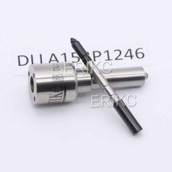 Iniettore diesel di Dlla 153 P 1246 dell'ugello della pistola a spruzzo dell'olio di Erikc Dlla 153p1246 Dlla153p1246 (0433171788) per Mercedes 0445110137