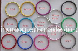 2018colorful de Ringen van het aluminium voor het Gebruik van de Slinger van de Baby dat in China wordt gemaakt