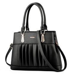 Btl10010 elegante Senhora Bolsas de luxo sacos de Mulheres Design Sacos de ombro bolsas vestido Saffiano Preto Senhoras