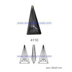De hete Halsband van de Legering van het Kristal van de Driehoek van de Muse van de Juwelen van de Verkoop Unieke
